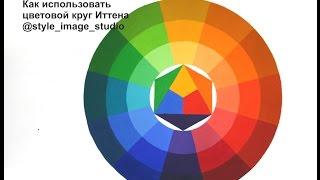 Сочетание цветов в одежде. Как использовать цветовой круг Иттена