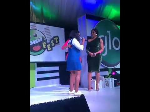 Jennifer Diary Star Funke Akindele Rocking Her Baby Bump At GloFest