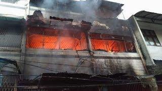 Terjebak di Lantai Dua Ruko yang Terbakar, Adik Kakak Meninggal di Teluk Gong