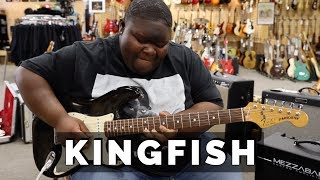 Christone KINGFISH Ingram Playing A 1989 Fender Stratocaster | Normans Rare Guitars