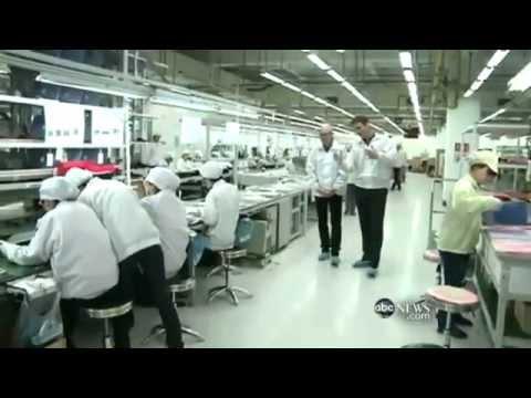 "Documental de la ABC News sobre las fabricas de Apple. ""A Trip to the iFactory""."