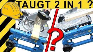 WAS TAUGT 2 In1? TEST KAPPSÄGE  & TISCHKREISSÄGE GÜDE GFO 1801 | WERKZEUG NEWS #24