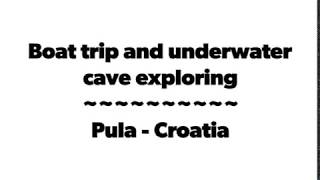 preview picture of video 'Boat trip & underwater cave exploring'