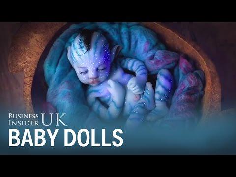 Spanish company Babyclon makes scarily realistic baby dolls