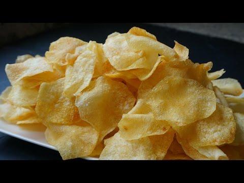 Video: Papas Chips Crujientes y Caseras