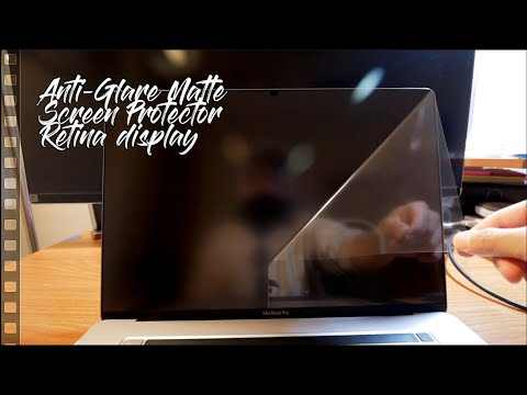 The best Matte anti glare Screen Protector for the Apple MacBook Pro 16""