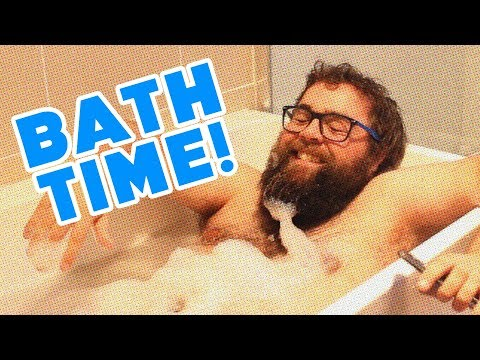 AJ trying to film himself in the bath (Blooper Reel) | Cult Popture