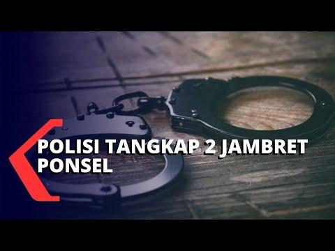 Polisi Tangkap 2 Pejambret Ponsel Pesepeda