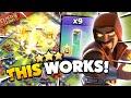 9 Invisibility Super Wizard Blimp Attack clash Of Clans
