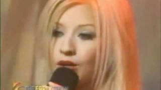 Christina Aguilera -The Christmas Song (The Early Show 1999)