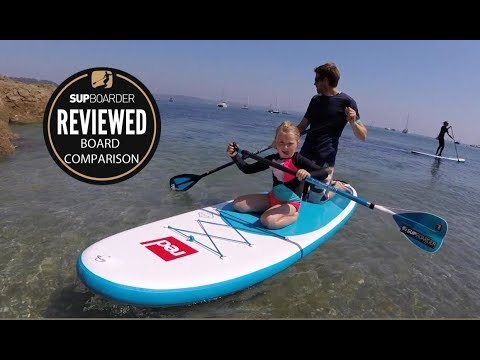 Red Paddle Co Ride 2018 range / Comparison Video