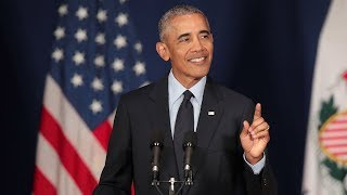 Obama rebukes politics of Trump in speech ahead of midterm elections