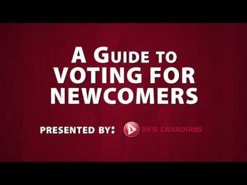 A guide to voting for newcomers to Canada