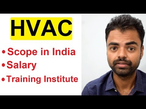 HVAC Career Scope in India, Salary, Best Training Institute in India After Engineering Hindi