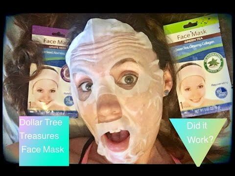 Dollar tree Face mask! Did it work? My review