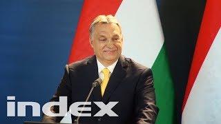 Orbán végre tartott egy sajtótájékoztatót, de nem volt benne köszönet