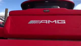 """MIBS Show: Cigarette 41"""" GTR AMG Boat with Poco Integration"""