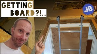 Lofts and Ladders - Getting board up in the loft and other stuff