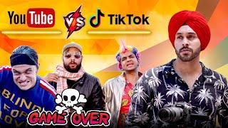 Youtube vs Tiktok | Tiktok Ka Game Over