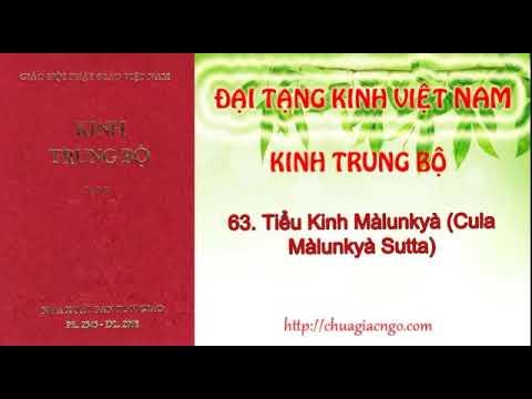 Kinh Trung Bộ - 063. Tiểu kinh Malunkyaputta