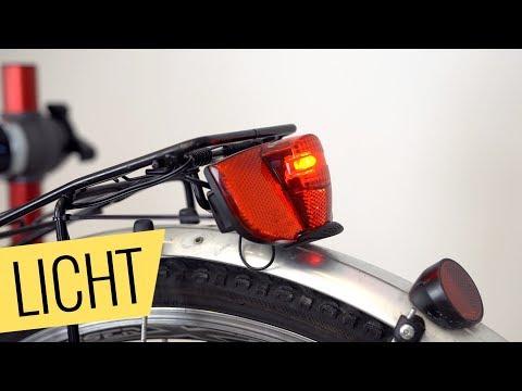 Trekkingrad RÜCKLICHT reparieren - einfach & schnell - Fahrrad.org