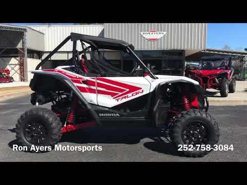 2021 Honda Talon 1000R in Greenville, North Carolina - Video 1