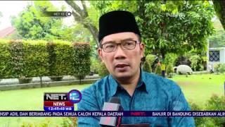 Beberapa Faktor Penyebab Banjir Di Kota Bandung  NET 12