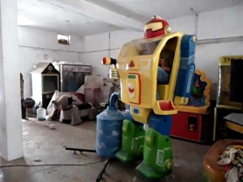 Soldier Robot Amusement Ride