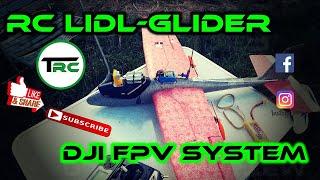 RC Lidl Glider - Twinmotor und Dji Digital FPV System