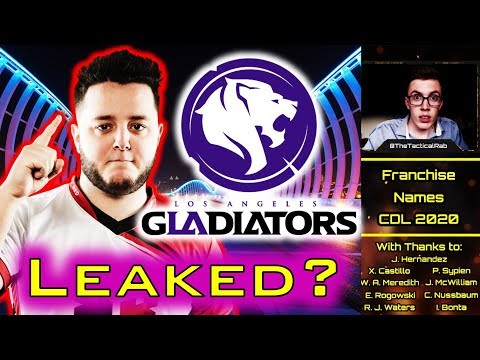 CDL Team Names LEAKED!? - Skrapz to L.A.??    CoD:MW Franchise News & Rumors