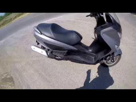 Suzuki Burgman 125 Review & Testride