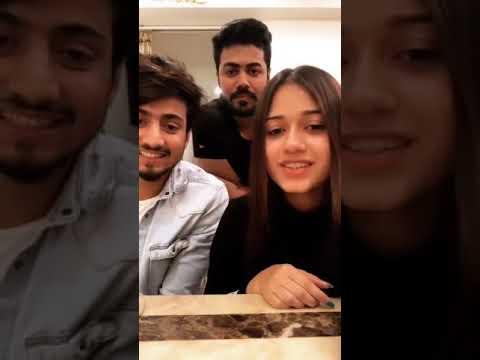Jannat Zubair और Mr faisu LIVE 🔴 CHAT क  | Youtube Search RU
