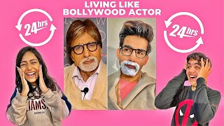 Watch LIVING LIKE BOLLYWOOD ACTOR for 24 Hours  WE LOVE YOU AMIT JI!