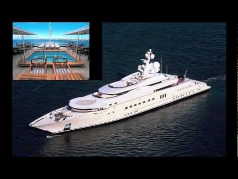 Top 5 Most Expensive Yachts