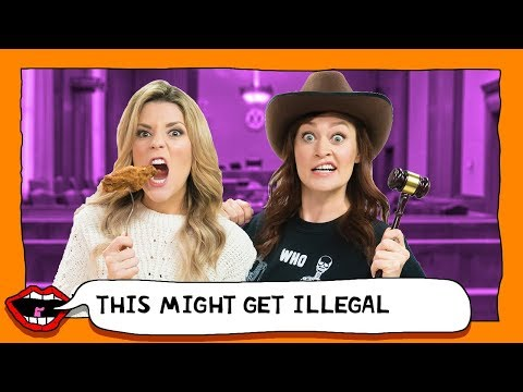 BREAKING THE WEIRDEST LAWS IN AMERICA with Grace Helbig & Mamrie Hart