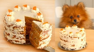 Carrot Cake FOR DOGS | RECIPE | Paddingtons Pantry