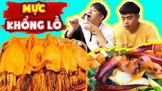 Phản ứng người Hàn khi được ăn Mực khổng lồ ngon bá cháy!!