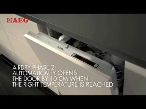 AEG Built In 60 Cm Dishwasher Fully FSS63607P - Fully Integrated Video 5