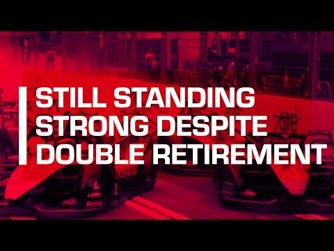 Still Standing Strong Despite Double Retirement | Hong Kong ePrix - Race Highlights |Mahindra Racing
