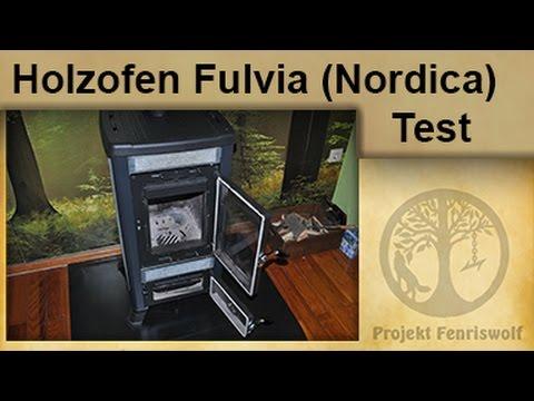 Holzofen Fulvia (Nordica) - Test - Krisensicher Heizen