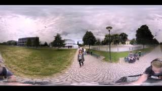 Virtuelle Campus-Tour: Hochschule Magdeburg-Stendal im 360-Grad-Video