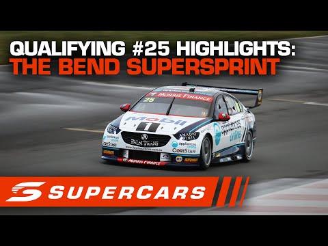 2020年 SUPERCARS OTRザベンド500 予選スーパースプリトハイライト動画