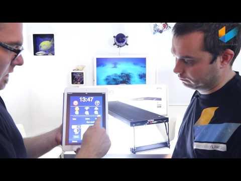Aqua Medic spectrus 60 & 90 LED   Review   Meerwasser Live TV