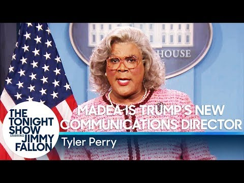 Madea Is Trump's New Communications Director (видео)