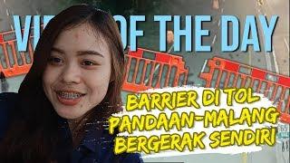VIRAL HARI INI: Barrier di Tol Pandaan-Malang Bergerak Sendiri, Petugas Jasamarga Angkat Bicara