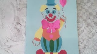 DIY : Открытка с Сюрпризом на 1 Апреля Своими Руками *** Открытка - Клоун на День Смеха