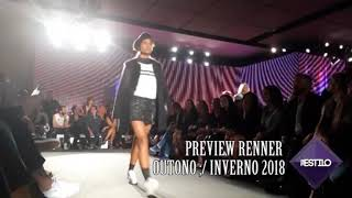 Preview Renner - Outono/Inverno 2018