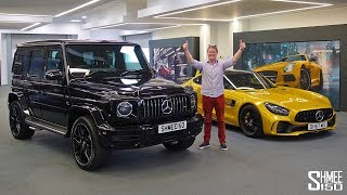 IT'S HERE! Collecting My New AMG G63