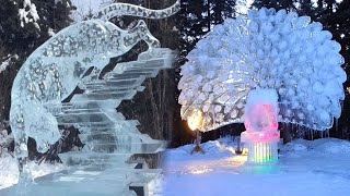 Most UNBELIEVABLE ICE SCULPTURES You Cant Imagine