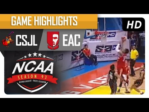 Letran Knights vs. EAC Generals | NCAA 93 | MB Game Highlights | July 18, 2017